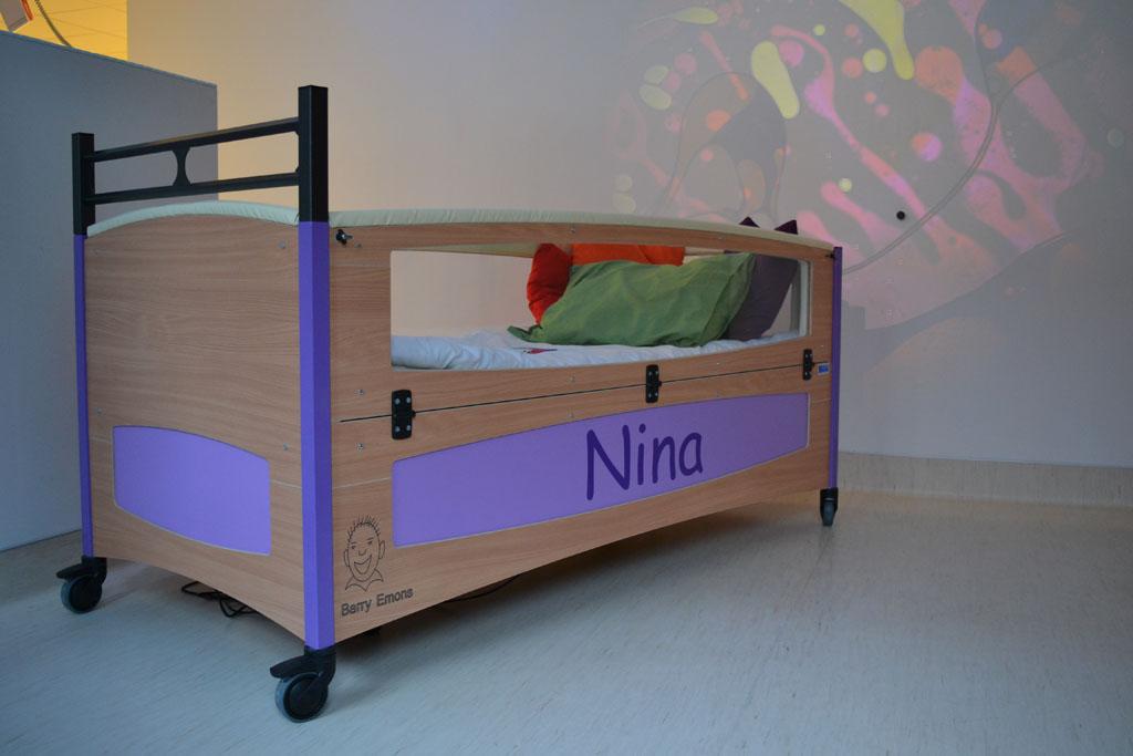 Aangepast bed lima