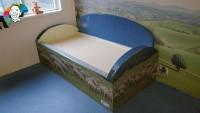 Bisonyl matras tbv ComFit 1 bed, afm. 90 x 200 x 14 cm