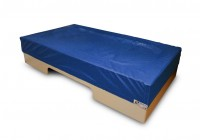 Muziek-tril waterbed Basis, 130 x 240 x 50 cm shakers, 2x tilliftuitsparing excl. hoes